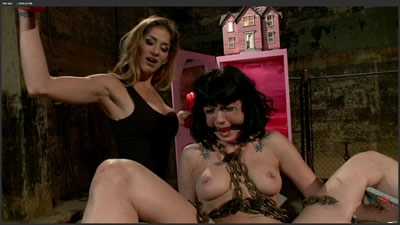 [欧美经典]11.07.01 13115 Asphyxia Noir Felony Maitresse Madeline Marlowe Los Angeles Fetish Doll