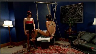 [欧美经典]Maitresse Madeline Marlowe Cassidey Get Off The Dick A lesbian BDSM fantasy.