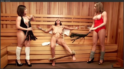 [欧美经典]Chanel Preston Lea Lexis Katrina Zova Sweaty Sadistic Lesbian Sauna