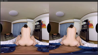 "【WAVR00010_B】     【VR】催眠术搭配情侣VR""性欲100倍强的催眠术""中ED感觉很棒○和变得肉棒的我形成超敏感体质,脸上满脸大气的女友"