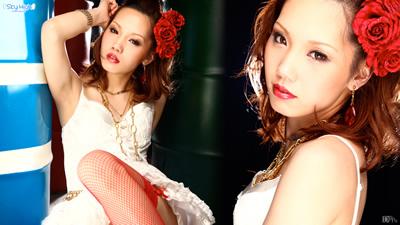 【041411-670】包臀小红裙美女 木下蝶姫