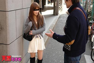 [033112_01A] 门外汉搭讪~在背后非常好色的女孩~户冢加奈美