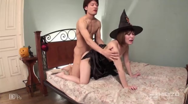 [HEYZO-0156] 淫乱魔女的中出